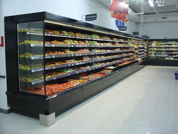 Refrigerador comercial supermercado vitrina frigorifica for Muebles para supermercado