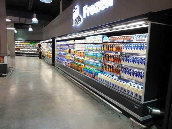 Commercial Refrigeration Supermarket Refrigerated Showcase